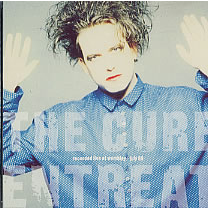 CURE - Entreat  Recorded live at Wembley july 89   8 tracks - CD