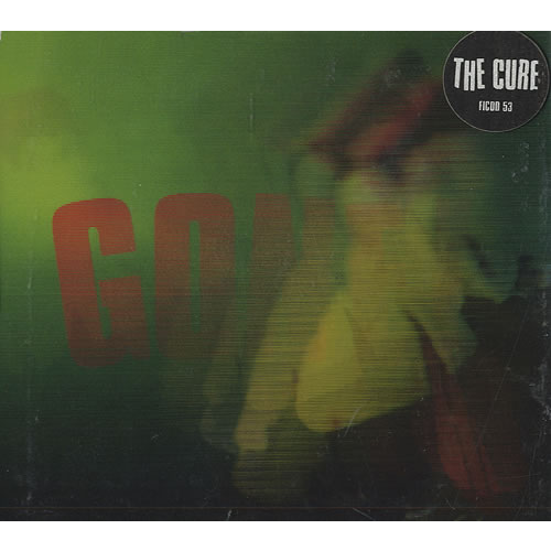 CURE - Gone(Radio mix/Critter mix/Ultraliving mix/Spacer mix) - CD single
