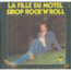 EDDY MITCHELL - LA FILLE DU MOTEL / SIROP ROCK'N'ROLL - 45T (SP 2 titres)
