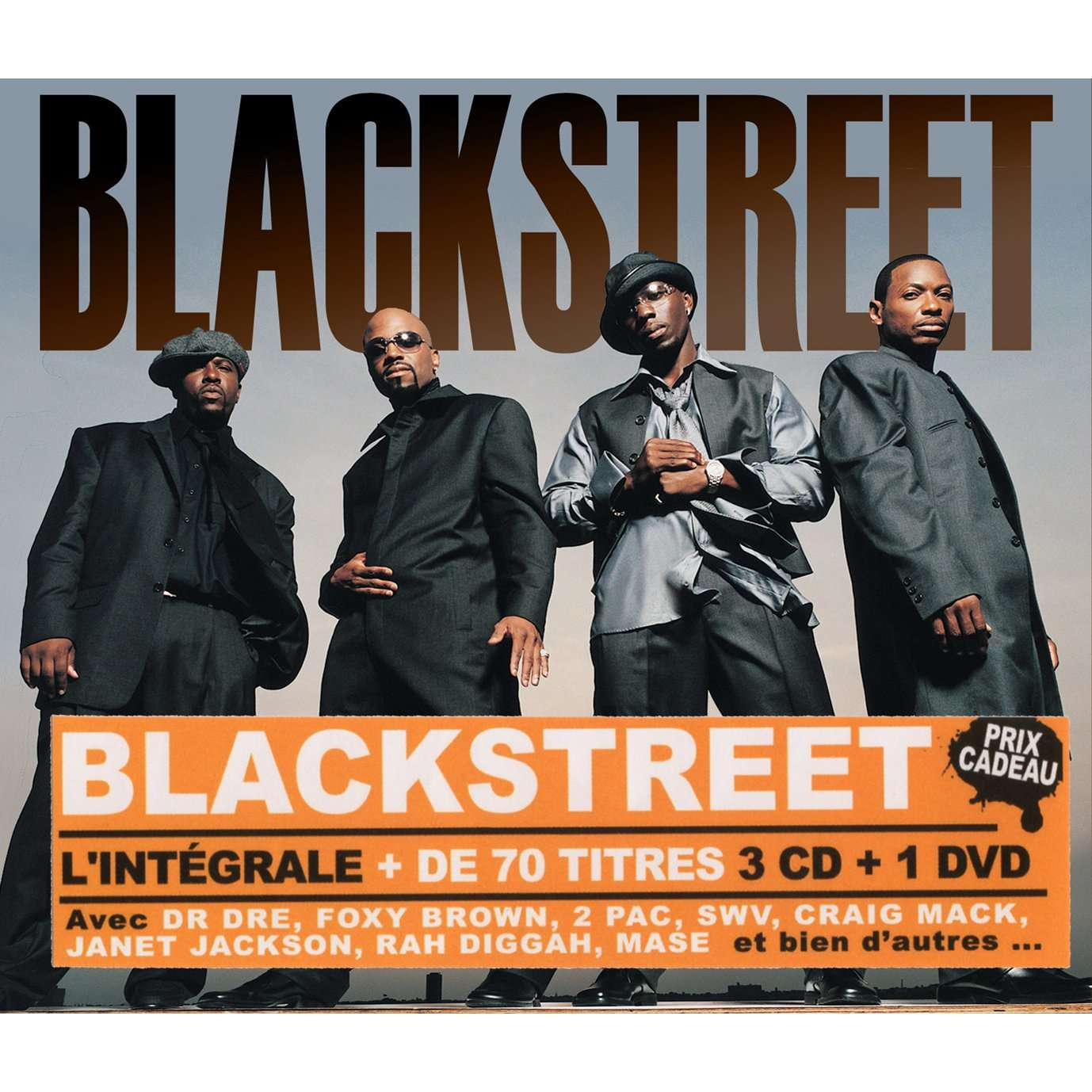 blackstreet coffret 3cds + 1 Dvd