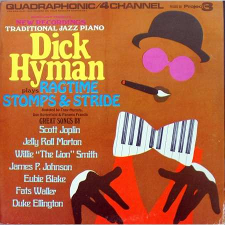 dick hyman ragtime stomps & stride