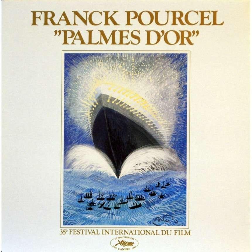 Franck Pourcel Palmes D'Or - 35° Festival International Du Film