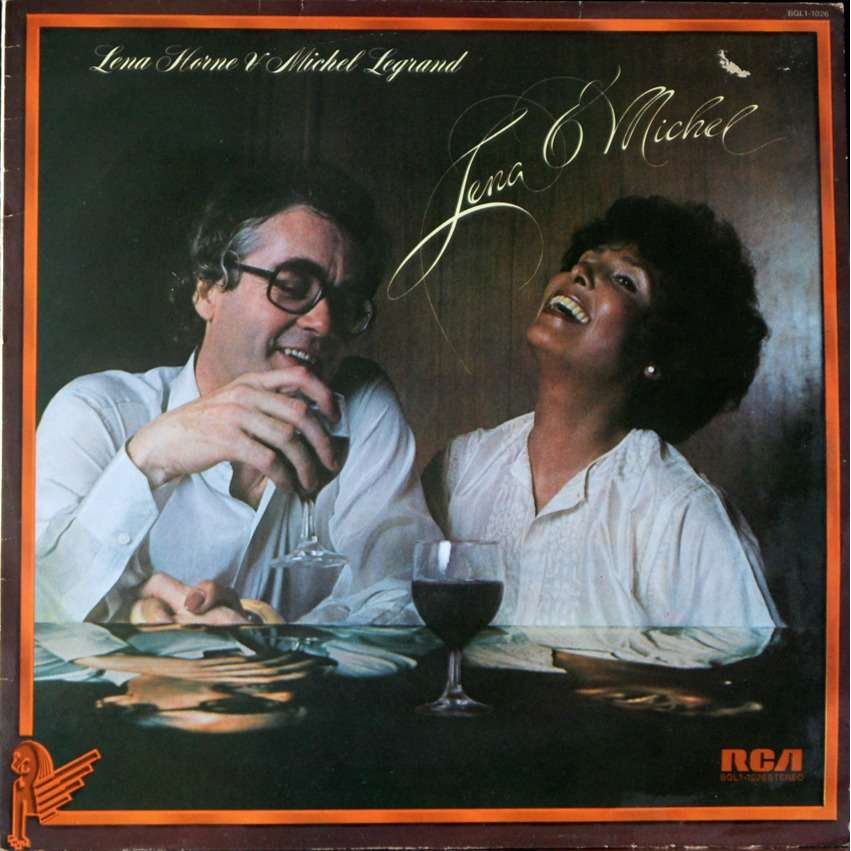 michel legrand and Lena Horne Lena & michel