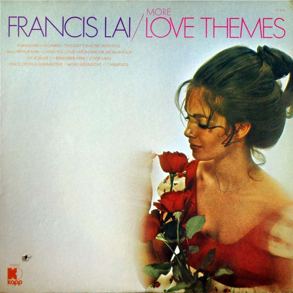 francis lai more love themes