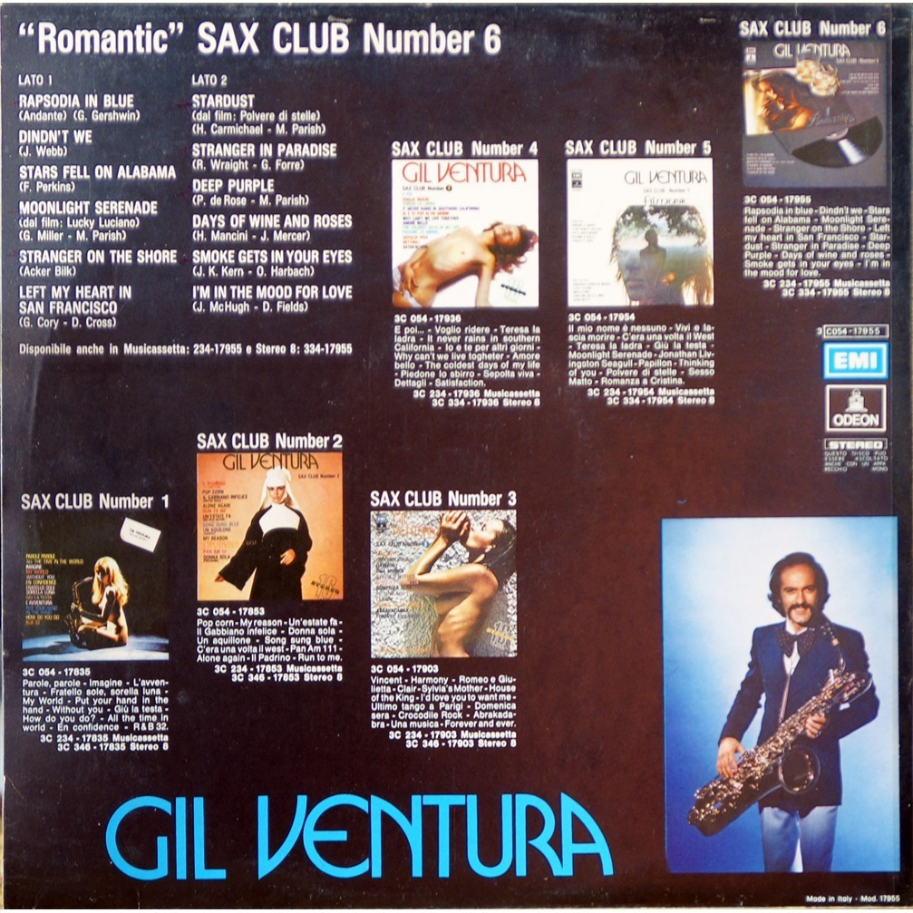 gil ventura sax club number 6