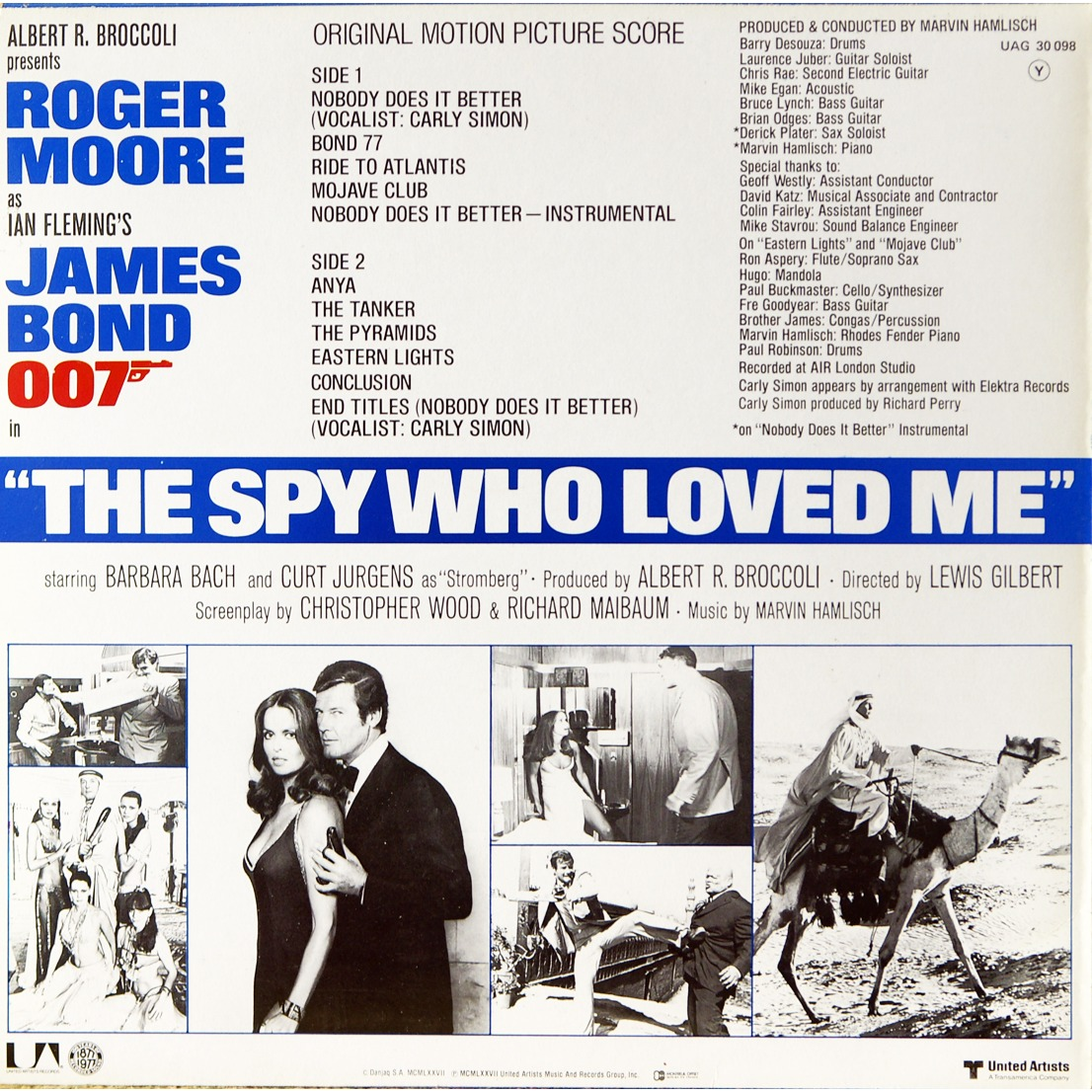 The spy who loved me - l'espion qui m'aimait - james bond ...The Spy Who Loved Me Soundtrack Carly Simon