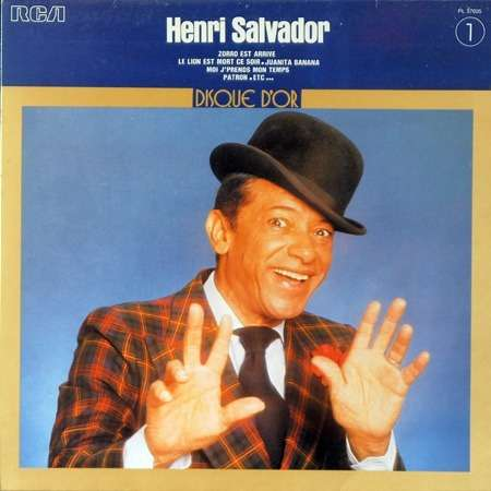 henri salvador disque d'or