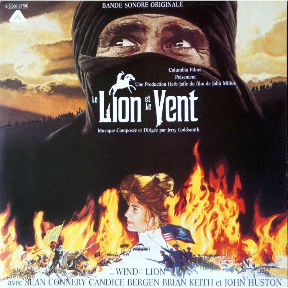 le lion et le vent de jerry goldsmith 33t chez rarissime ref 114957110. Black Bedroom Furniture Sets. Home Design Ideas