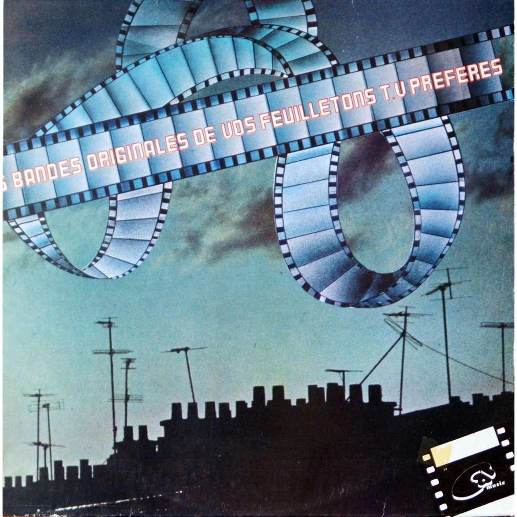 F. de Roubaix - J.Loussier - J Wienner bandes originales de vos feuilletons tv préférés