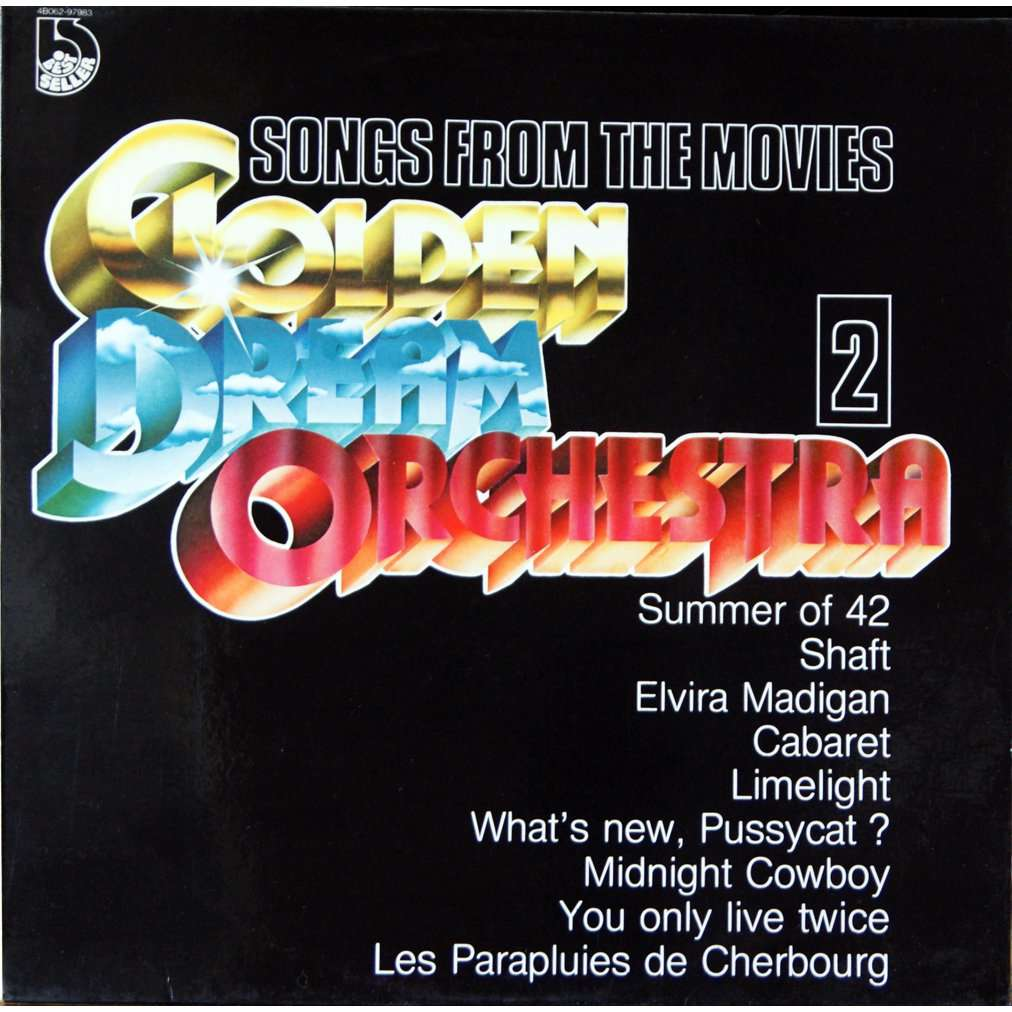 golden dream orchestra songs from the movies vol 2
