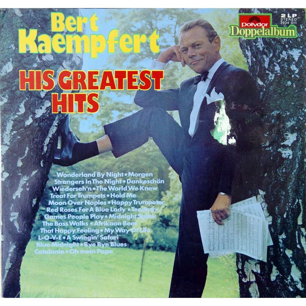 His Greatest Hits By Bert Kaempfert Double Lp Gatefold