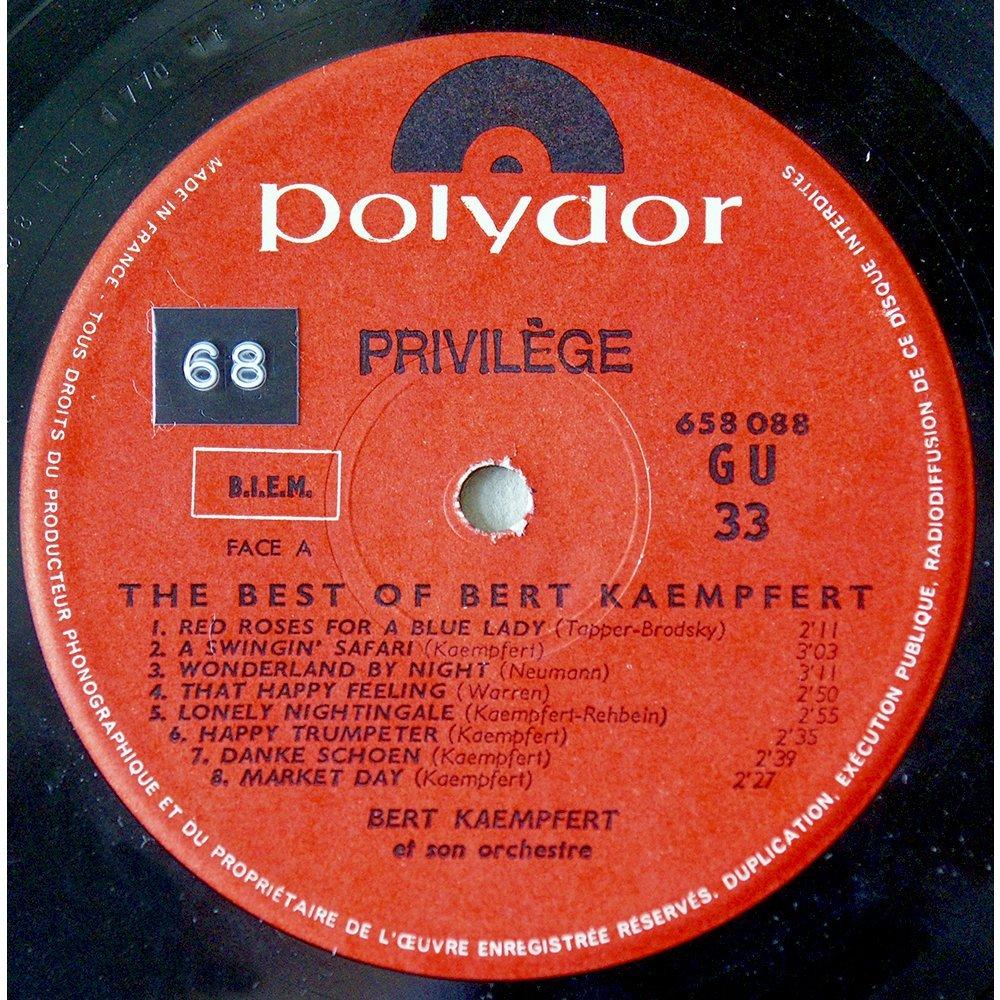 The Best Of Bert Kaempfert By Bert Kaempfert Lp With