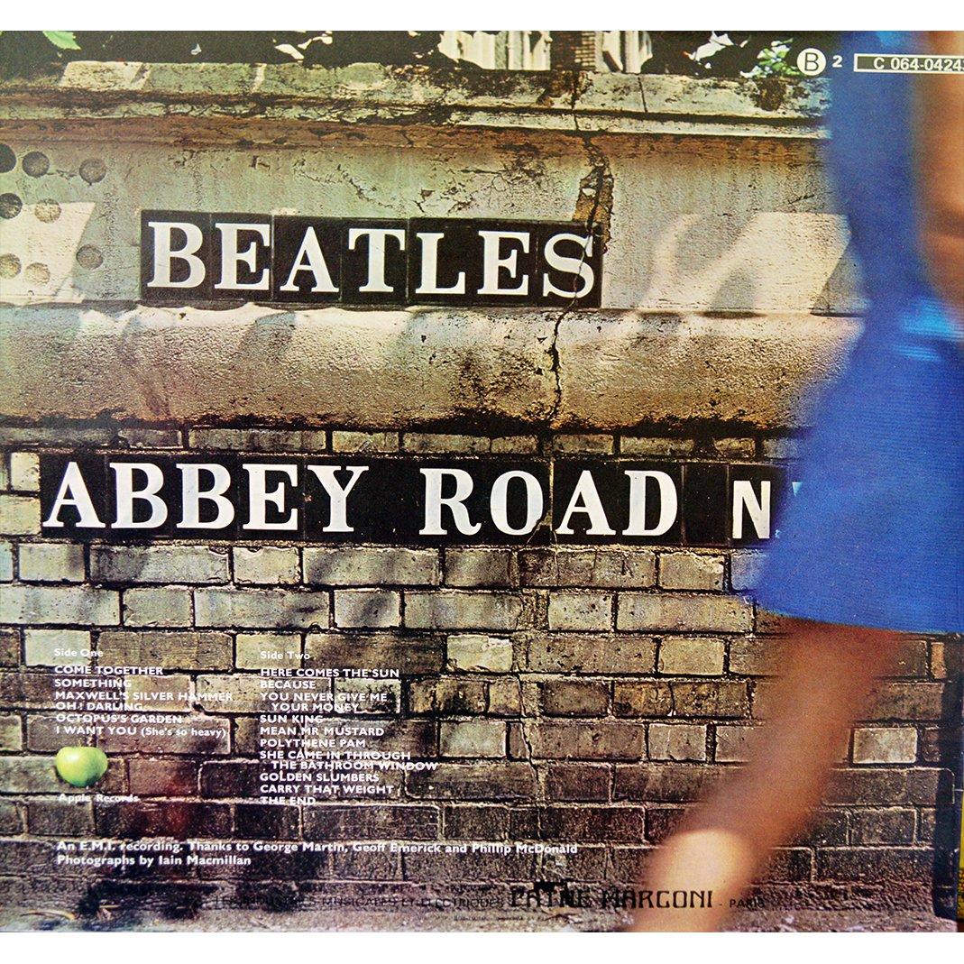 Abbey Road De The Beatles 33t Chez Rarissime Ref 114990961