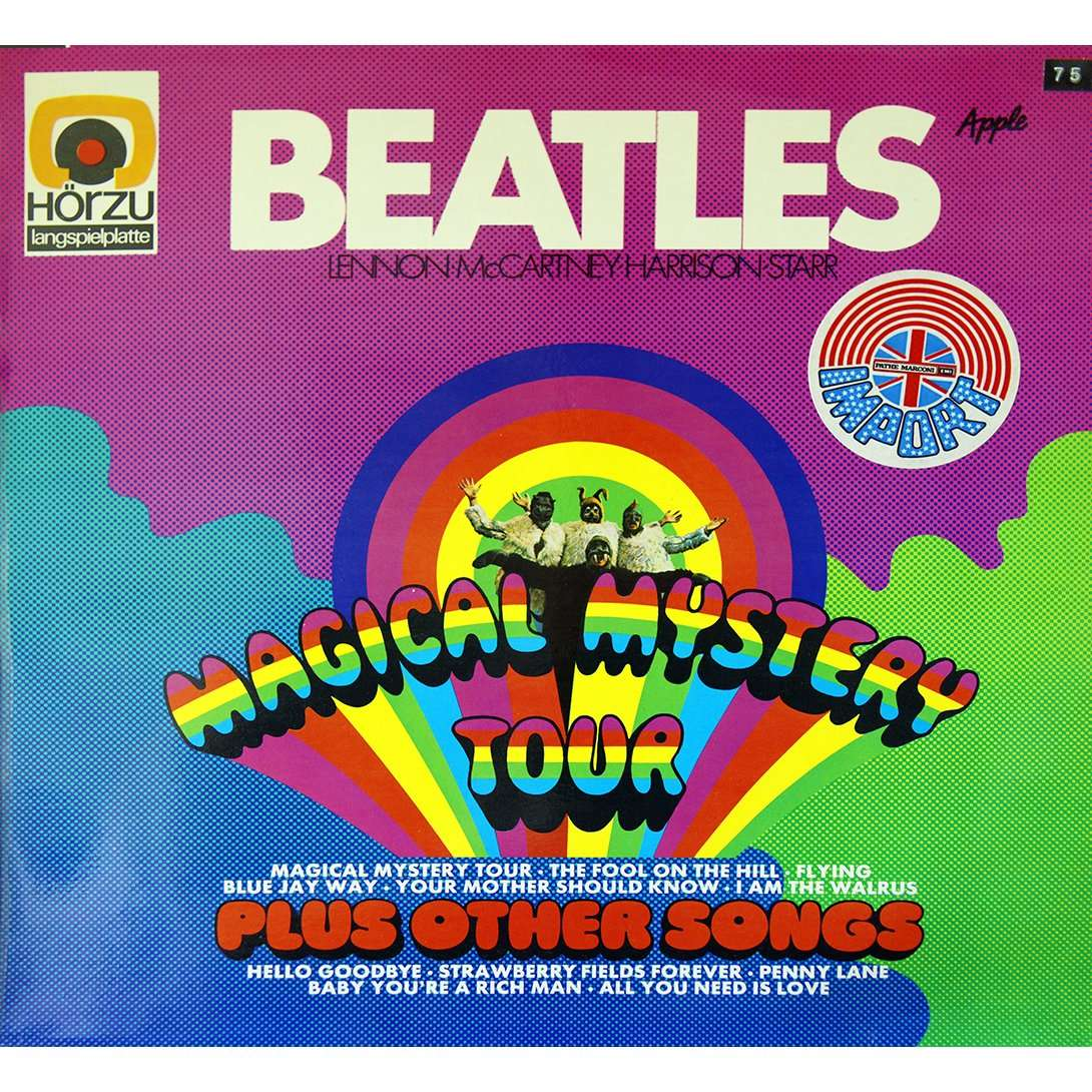 magical mystery tour by the beatles lp with rarissime ref 114990969. Black Bedroom Furniture Sets. Home Design Ideas