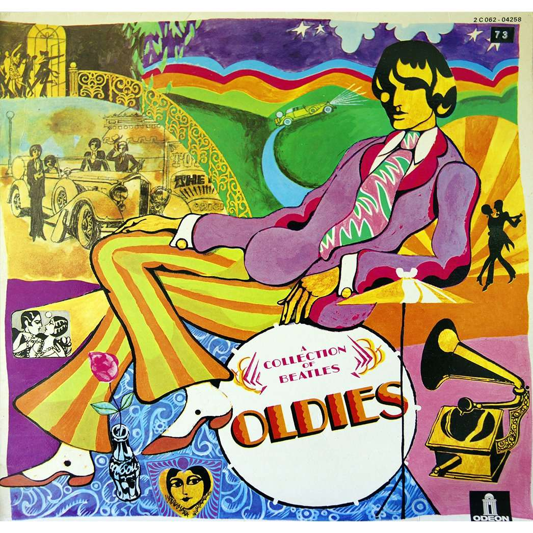 A Collection Of Beatles Oldies By The Beatles Lp With