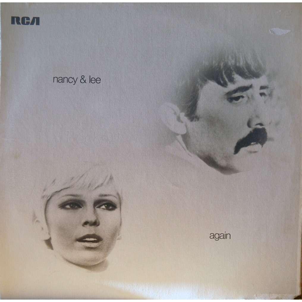 Nancy Amp Lee Again By Nancy Sinatra Lee Hazlewood Lp With