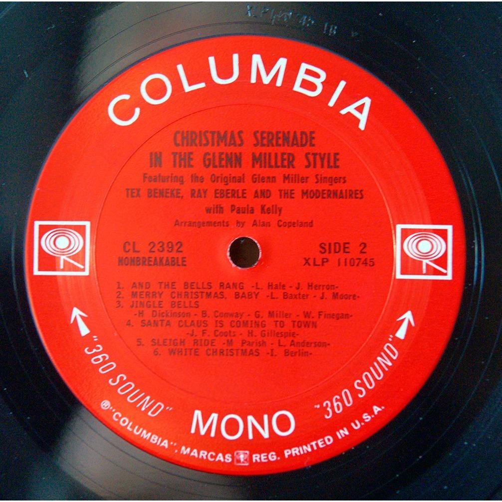 tex beneke ray eberle the modernaires Christams serenade in the glenn miller style