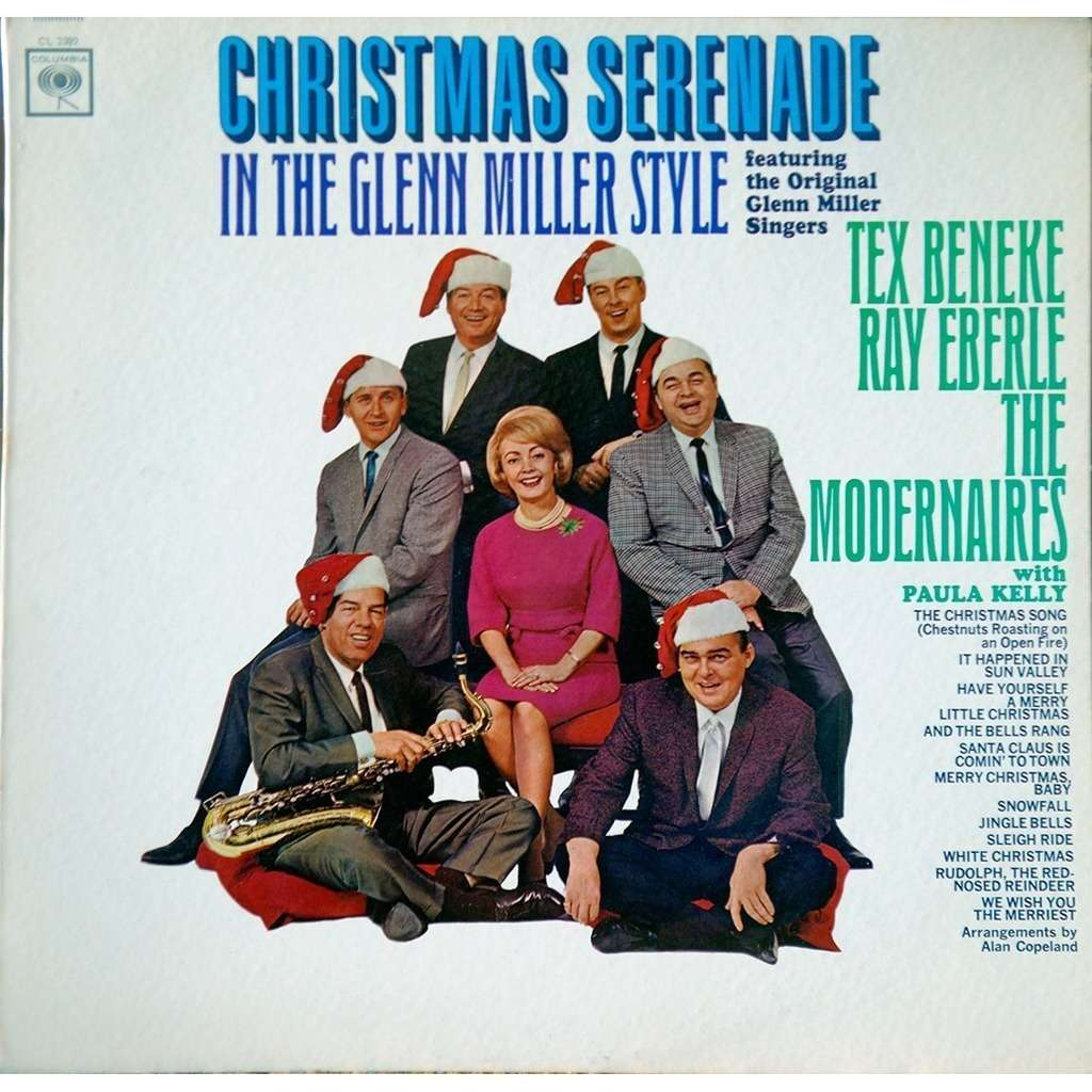 tex beneke ray eberle the modernaires Christams serenade in the glenn miller style