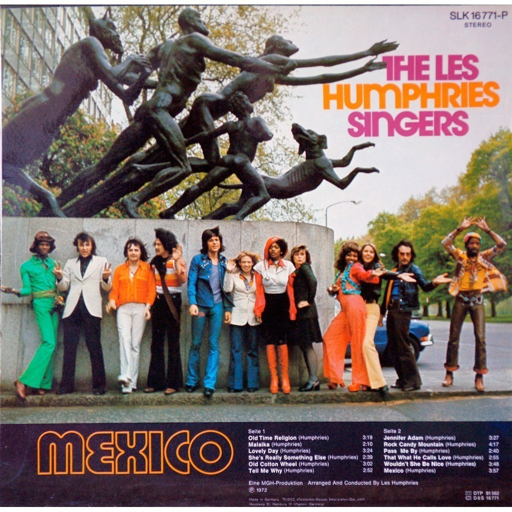 Mexico By The Les Humphries Singers Lp With Rarissime