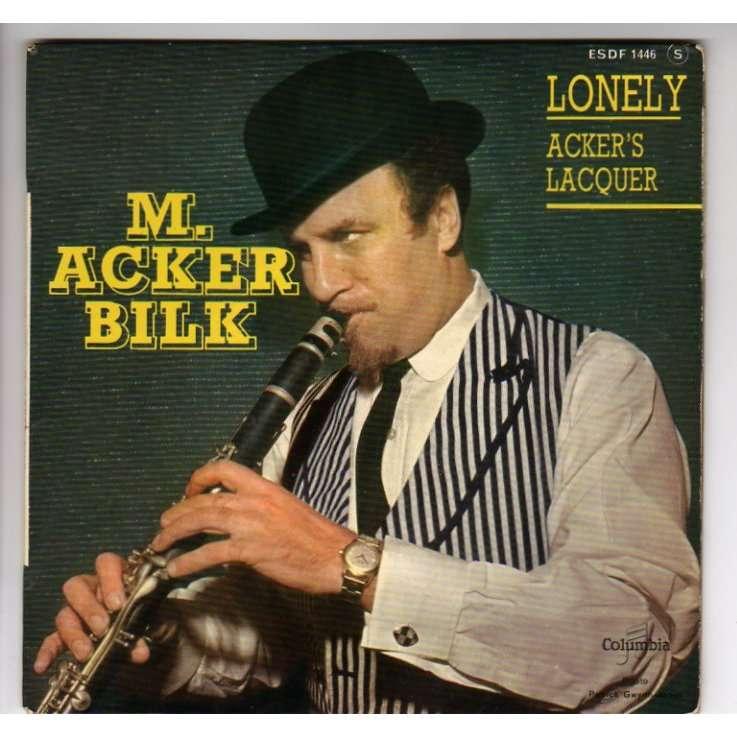 ACKER BILK MR LONELY + 3 - LANGUETTE - JAZZ