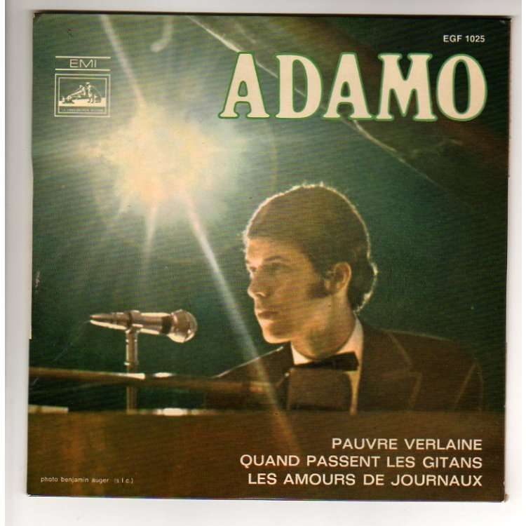 ADAMO PAUVRE VERLAINE + 2