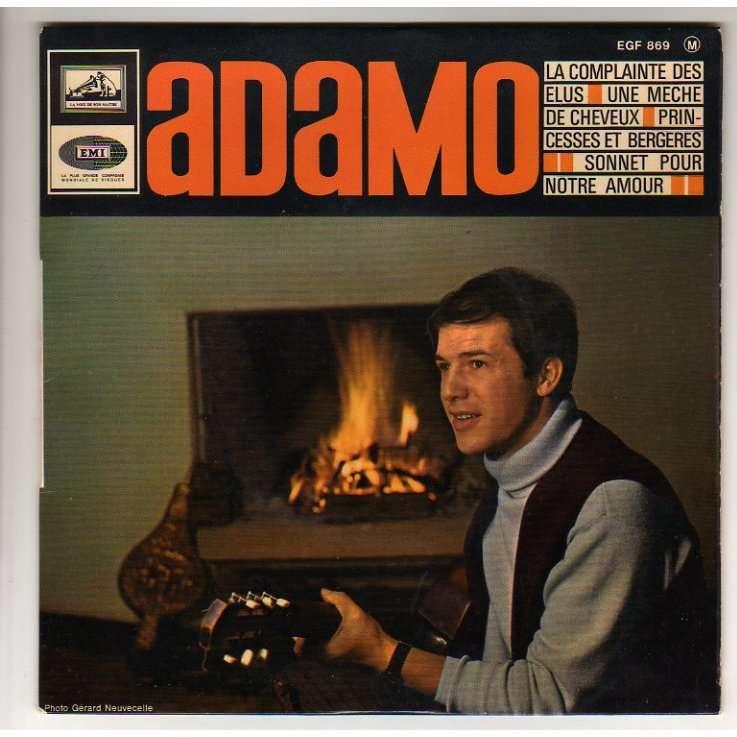 ADAMO LA COMPLAINTE DES ELUS + 3