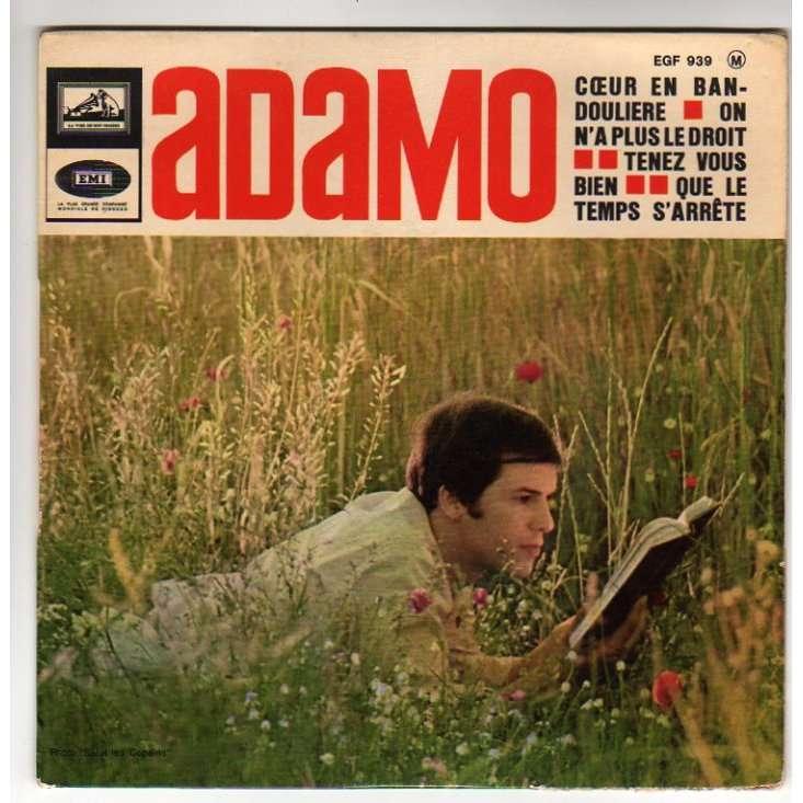 ADAMO COEUR EN BANDOULIERE + 3