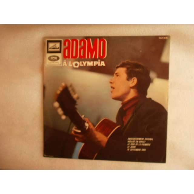 ADAMO A L'OLYMPIA - 12 TITRES - (BIEM)