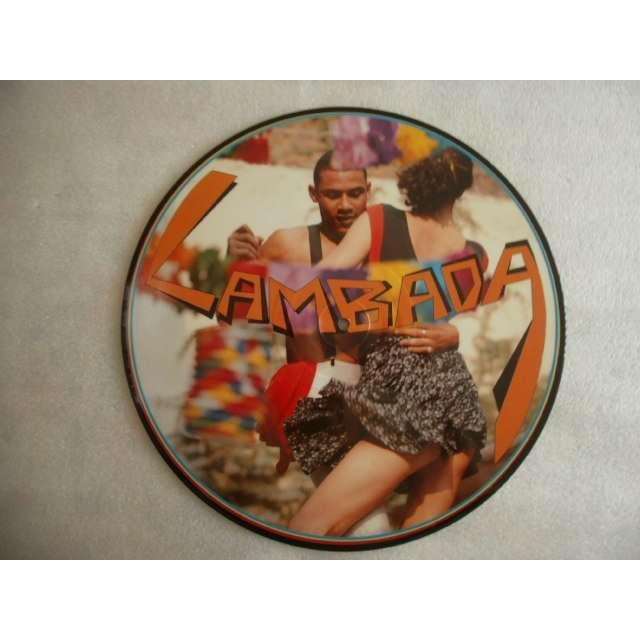CUROTIBA LAMBADA/FIESTA CABARET - MAXI 45 T PICTURE DISC - 1989