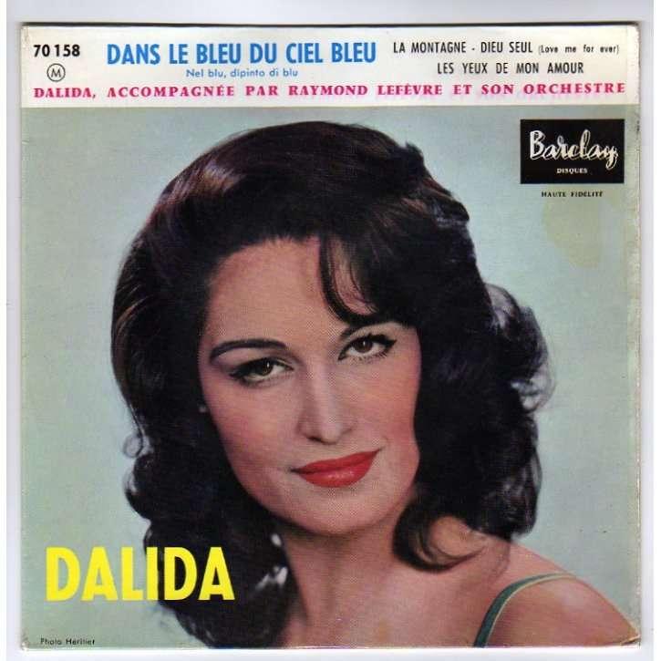 DALIDA - DANS LE BLEU DU CIEL BLEU/VOLARE - YouTube