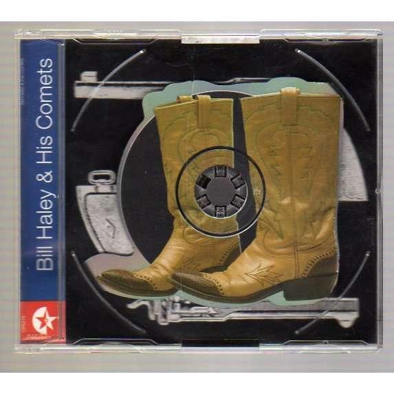 HALEY BILL ROCK AROUND THE CLOCK + 3 - CD DECOUPE (BOTTES) - 1996