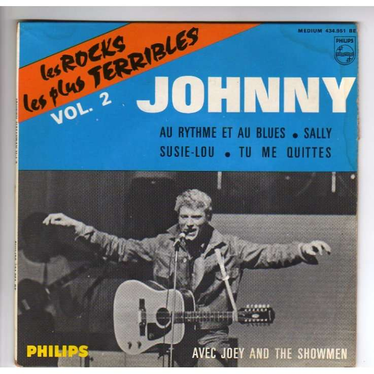 HALLYDAY JOHNNY LES ROCKS LES PLUS TERRIBLES VOL. 2 - LANGUETTE
