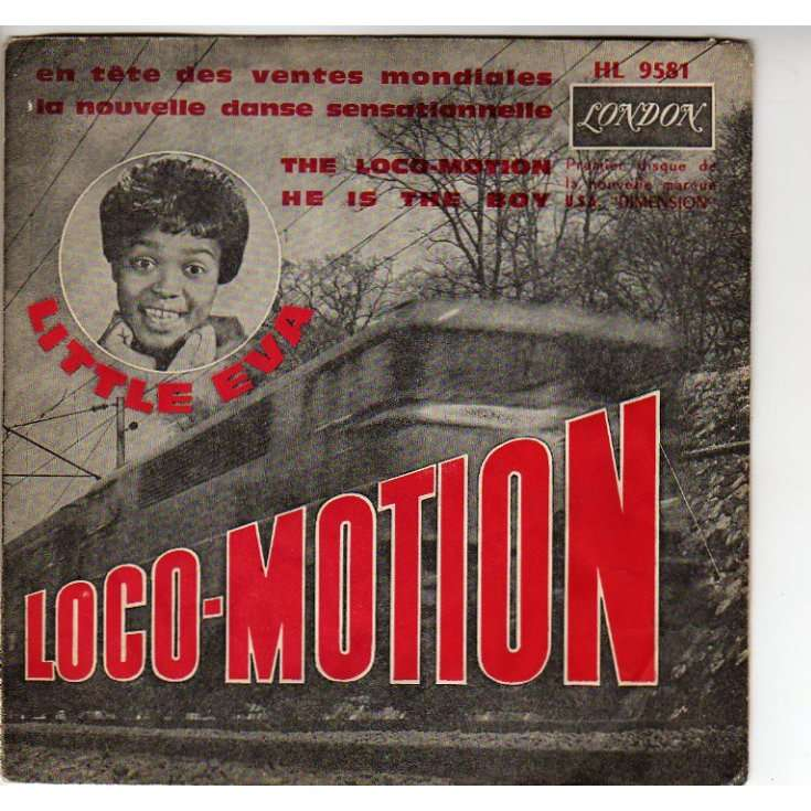 The Loco Motion He Is The Boy 208 45 T Jukebox By Little Eva