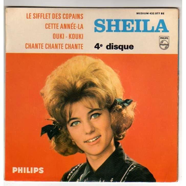 SHEILA LE SIFFLET DES COPAINS + 3 - N¡4 - LANGUETTE