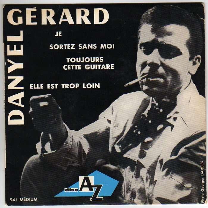 DANYEL GERARD JE + 3 - LANGUETTE - AVEC LES CHAMPIONS
