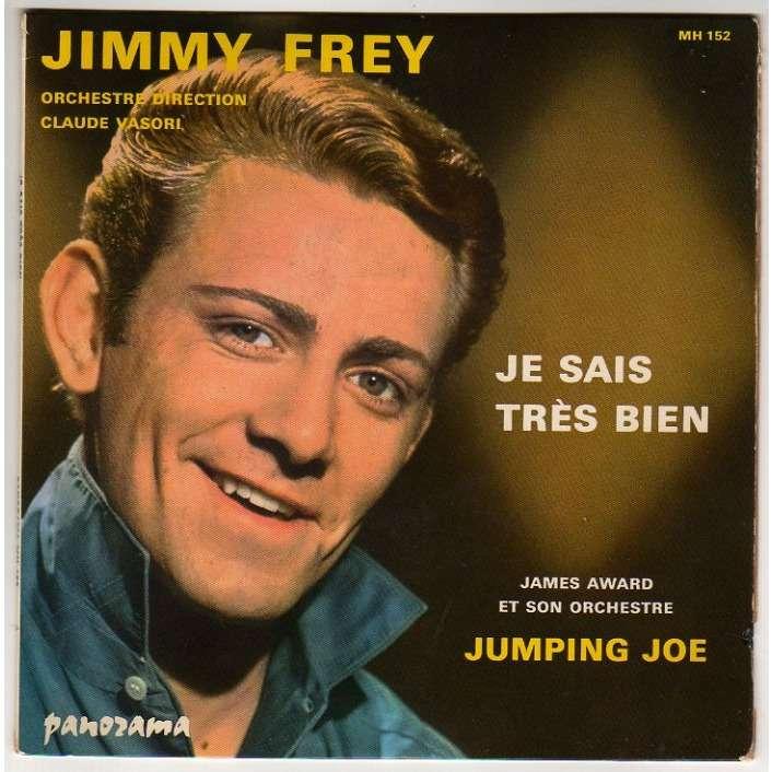 FREY JIMMY JE SAIS TRES BIEN/JUMPING JOE - (MANQUE PETIT BOUT DE POCHETTE AU DOS)
