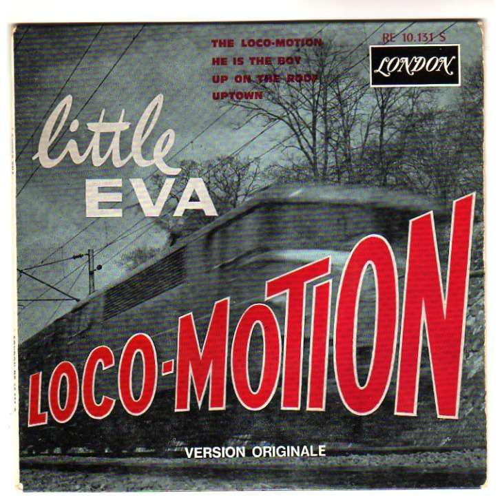LITTLE EVA THE LOCO-MOTION + 3 - 1 EP