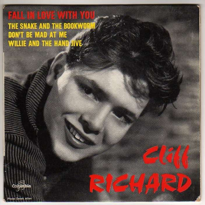 RICHARD CLIFF FALL IN LOVE WITH YOU + 3 - LANGUETTE