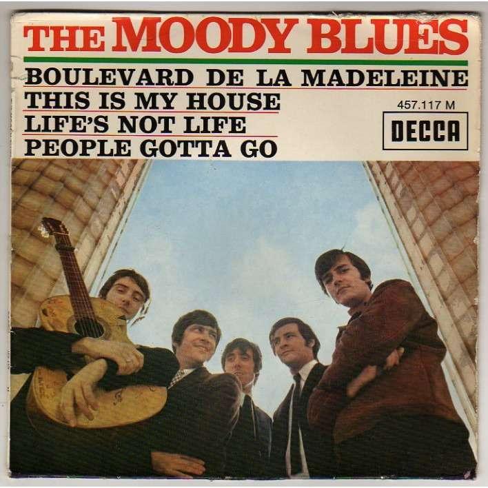 Boulevard De La Madeleine 3 By Moody Blues Ep With Rock