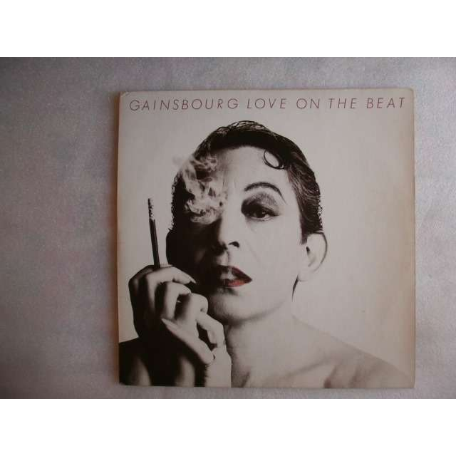 GAINSBOURG SERGE LOVE ON THE BEAT + 7 - 1984