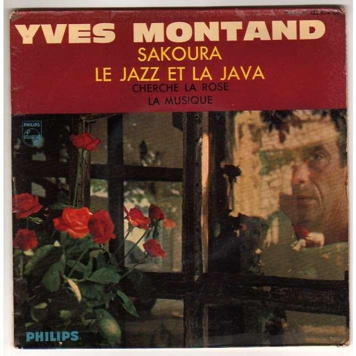MONTAND YVES LE JAZZ ET LA JAVA + 3 - LANGUETTE
