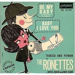Be My Baby By Ronettes Ep With Rockinronnie Ref 113821441