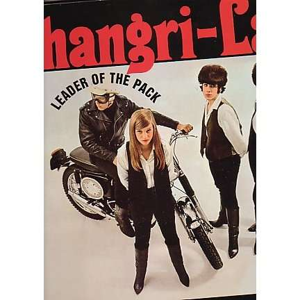 Leader Of The Pack By The Shangri Las Lp With
