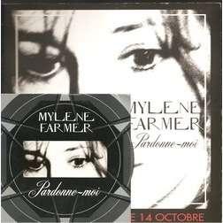 mylene farmer pardonne moi cd promo+plan media