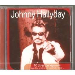 johnny hallyday 10 titres de legende promo
