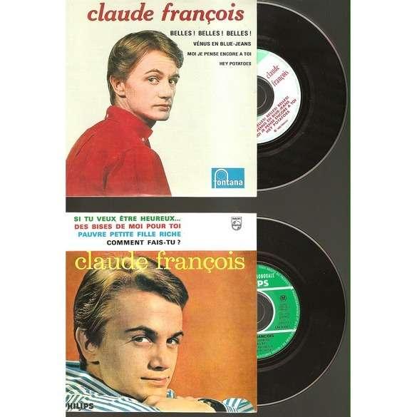claude françois belles belles 2 cds repro des eps