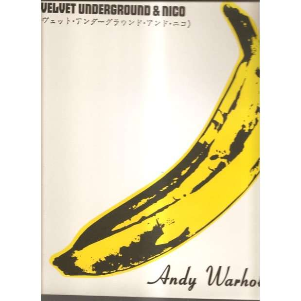 Andy Warhol Pochette Japon By The Velvet Underground Lp
