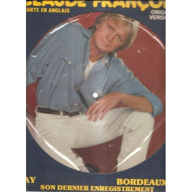 claude françois my way+11 picturedisc