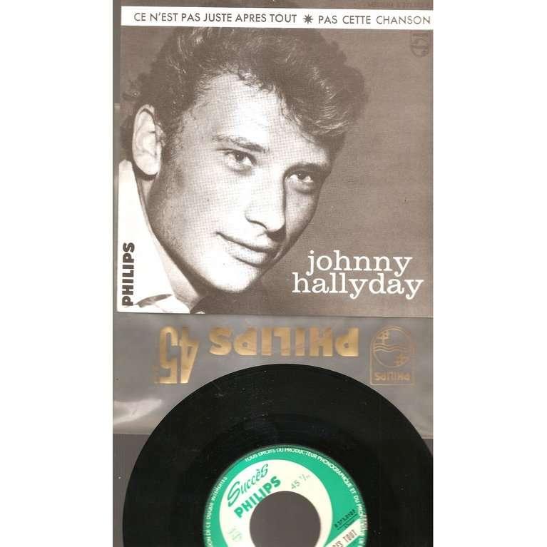 johnny hallyday ce n'est pas juste apres tout promo jukebox