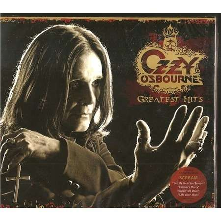 greatest hits by ozzy osbourne cd x 2 with rockinronnie ref 115025143. Black Bedroom Furniture Sets. Home Design Ideas